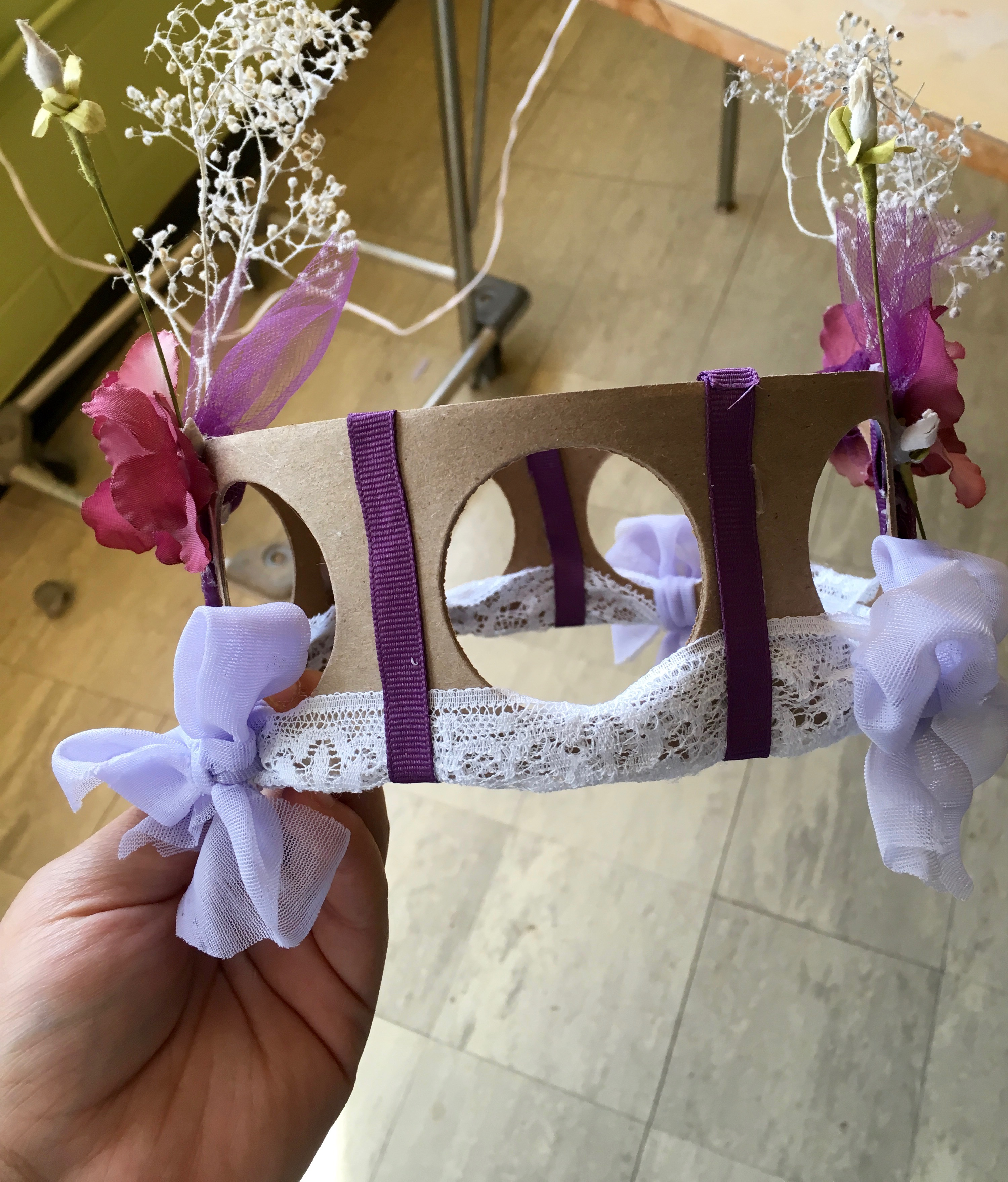 handmade Water Goddess Crown